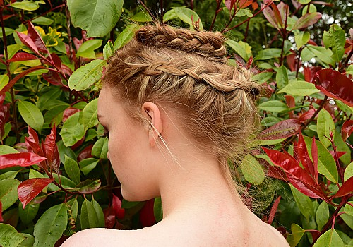 Go for laid-back chic this wedding season with a messy updo